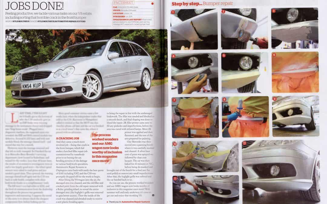 Mercedes Enthusiast August 2015
