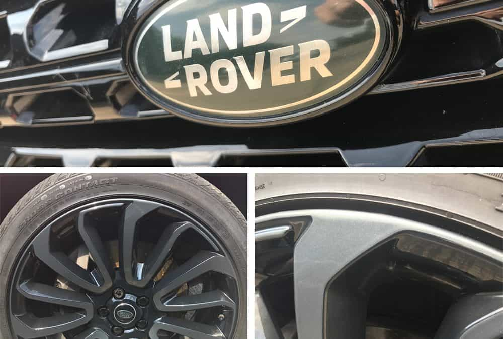 Range Rover two-toned wheels