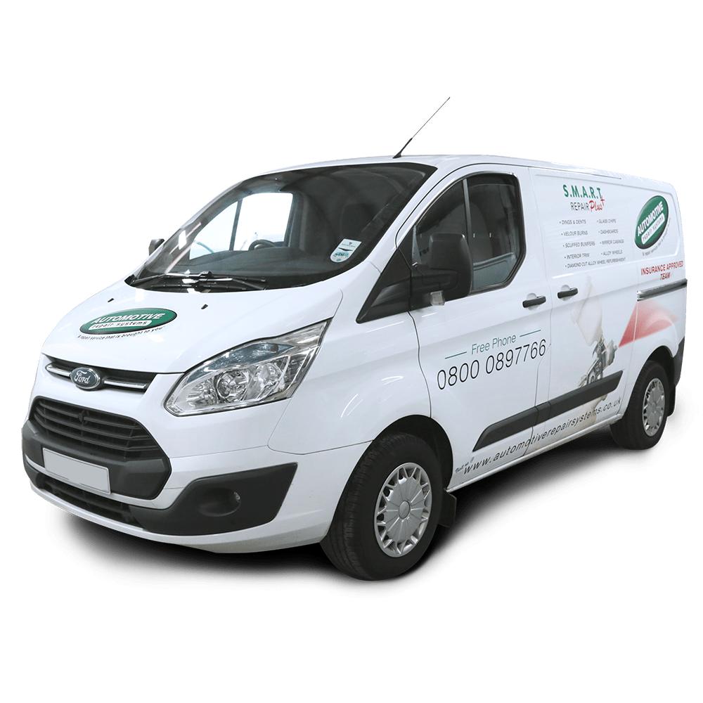 Mobile Insurance Repair Van