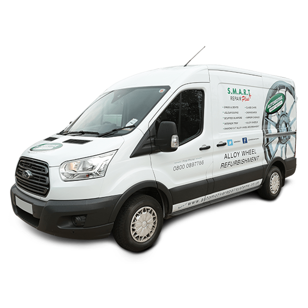 Mobile Alloy Wheel Repair Van