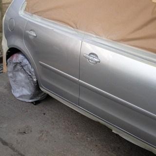 Large paint repairs