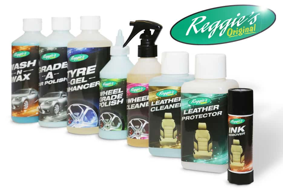 reggie car cleaning kit