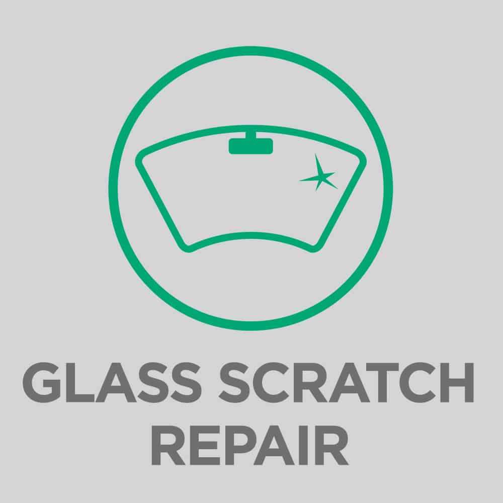 Glass chip and scratch repair