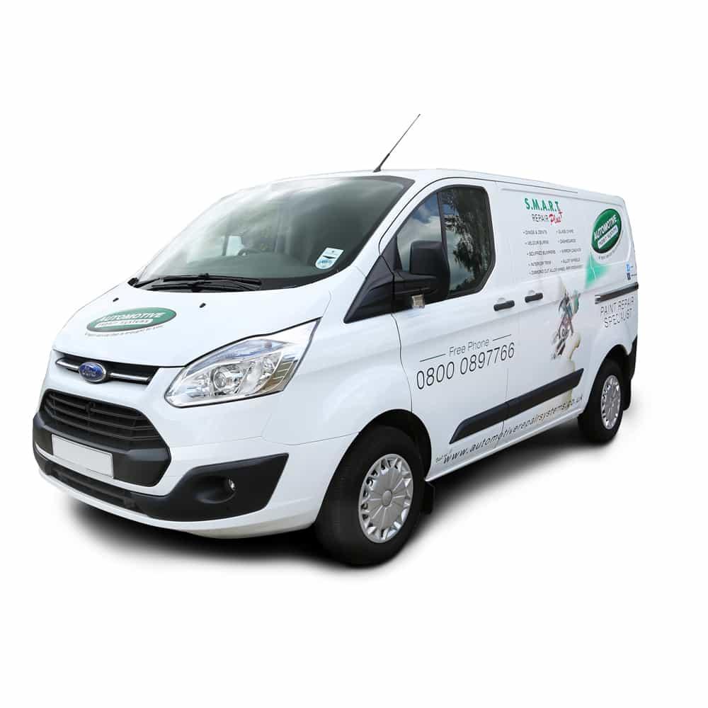 Mobile Paint Repair Van