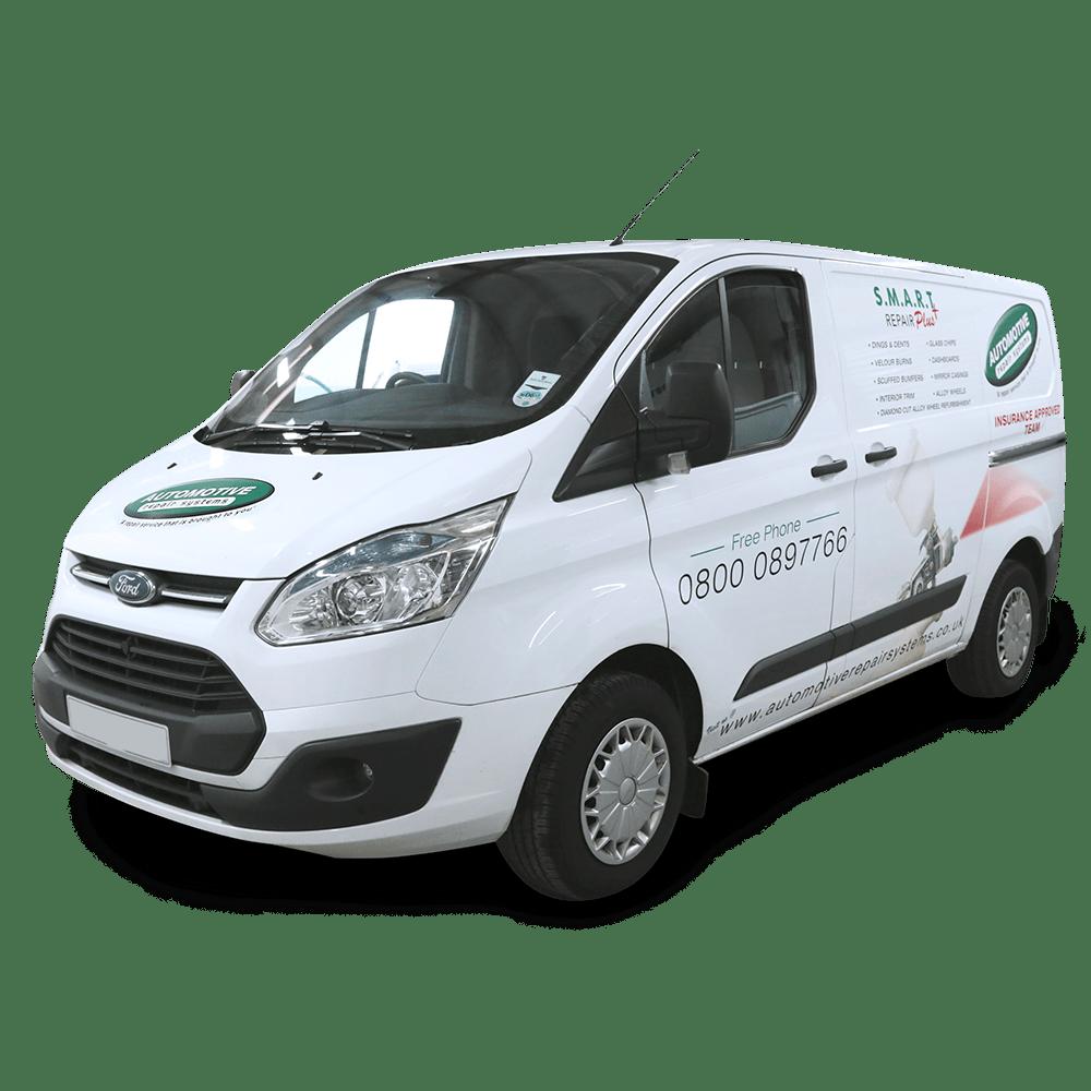 Mobile Insurance Repair Van