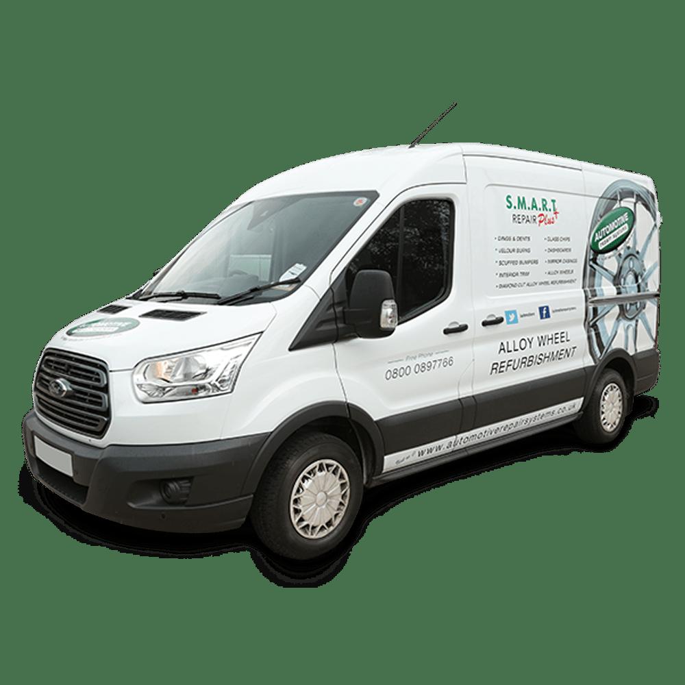 Mobile Alloy Wheel Repair Van