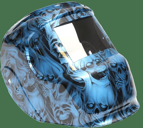 Custom Hydro graphcics welding helmet