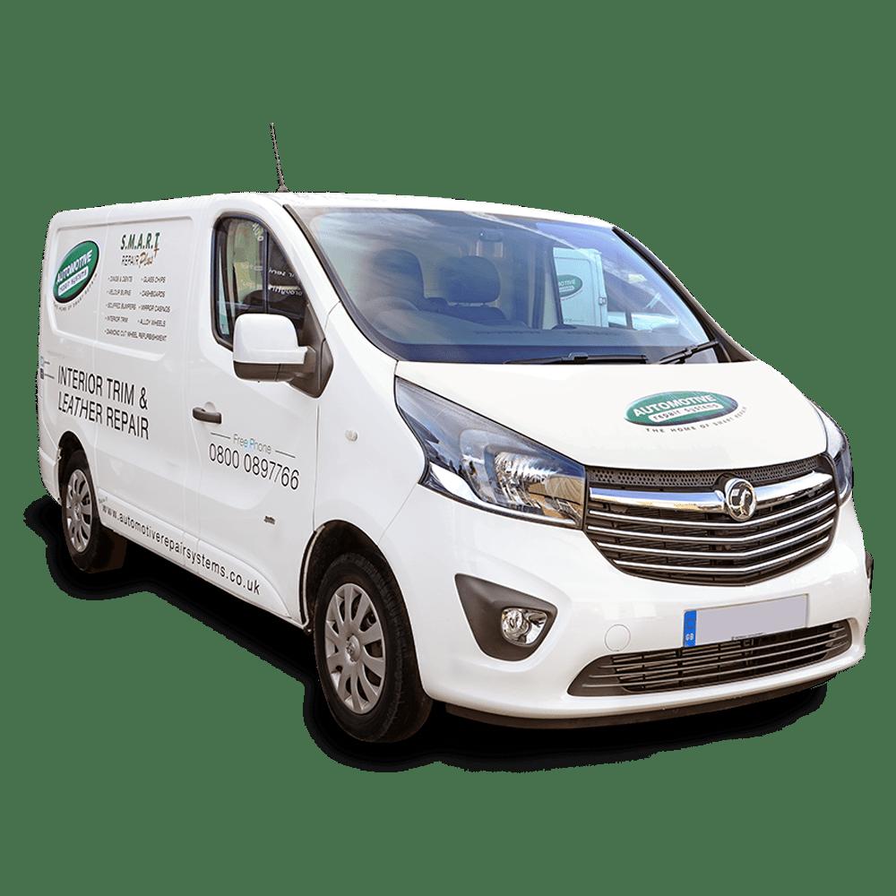 Mobile Interior Trim and Glass Repair Van